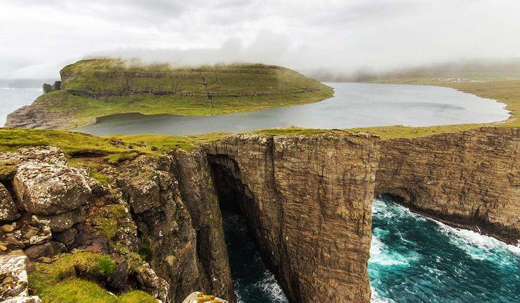 Lago Leitisvatn – Ilhas Faroé - Dinamarca