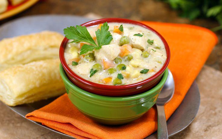 Chicken Pot Pie Soup in 30 Minutes