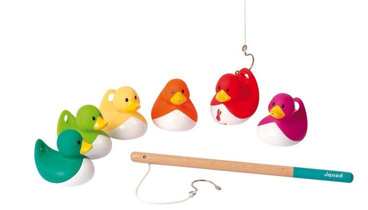 Janod - Ducky Fishing Bath Game