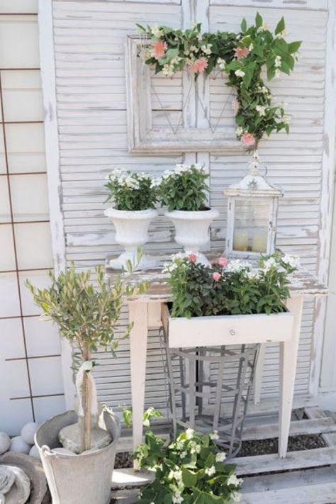 Die 25+ besten Ideen zu Shabby Chic Garten auf Pinterest ...