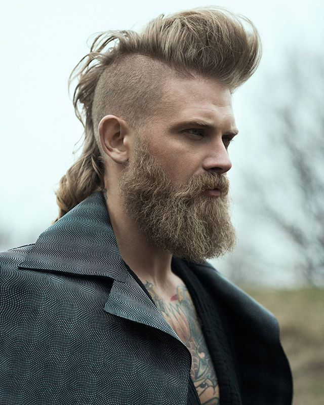 Norse Hairstyles 8 Viking Hairstyles For Guys With A