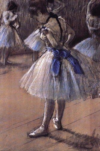 Famous Ballerina Art | Ballerina, Art Print by Edgar Degas