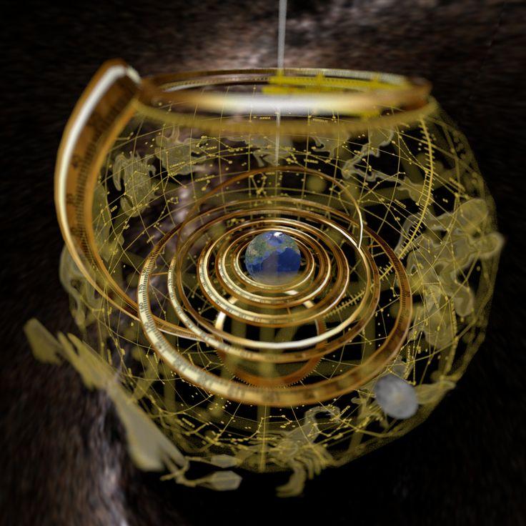 Blenderで遊ぶ: AR羅針盤追加機能制作過程(AR天球儀)8