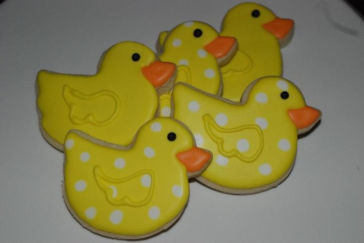 Duck sugar cookies