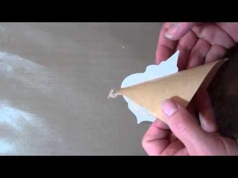 Burnished Velvet Technique using Micro Fine Glitter Ritz