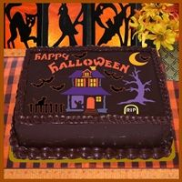 Halloween Sheet Cake Decorating Ideas : 67 best images about Halloween sheet cakes on Pinterest ...