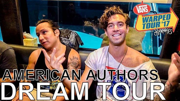 American Authors chat about their dream Warped Tour lineups!  Video available on digitaltourbus.com