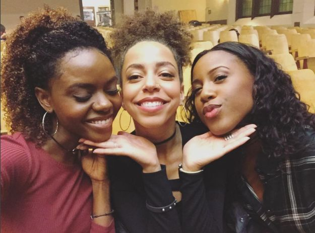 """When Ashleigh Murray (Josie) and her pussycats were actually the cutest. 