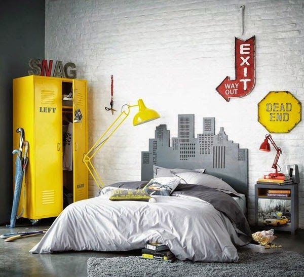 best 25 industrial boys rooms ideas on pinterest boys industrial bedroom boys room ideas and industrial kids wall decor - Design Kid Bedroom