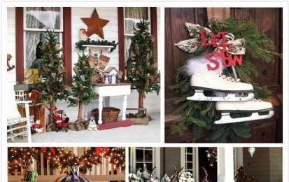 Addobbi natalizi da esterno - Decorazioni da esterno per Natale