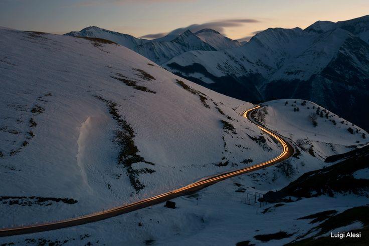 scie luminose - Monti Sibillini