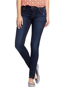 Women's The Rockstar Mid-Rise Super Skinny Jeans   Old Navy