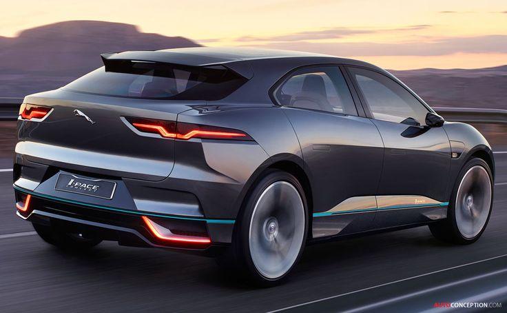 2016 Jaguar I-PACE SUV Concept