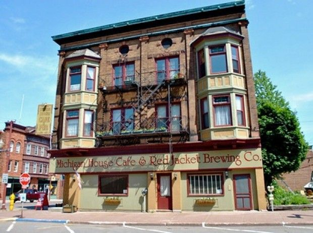 Michigan House Cafe & Red Jacket Brewing Co. (1905), #Calumet