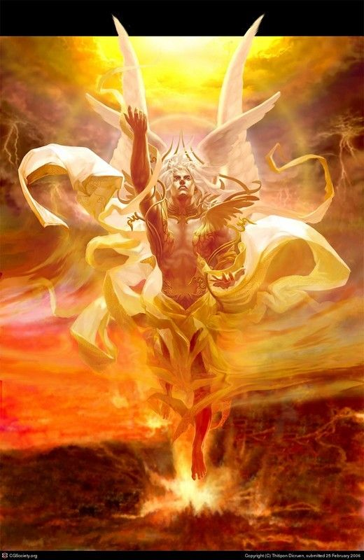 Hyperion-Father of Helios,Selene, and Eos, Titan of Blinding light and brilliance
