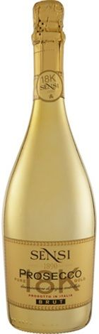 Sensi Prosecco DOC 18k Gold 750mL