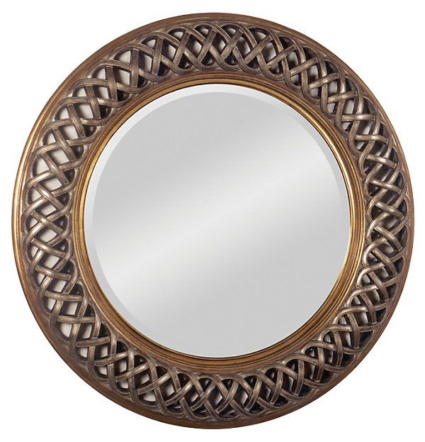 eb98cc188d16c71a8361331107a2881d  round wall mirror wall mirrors - Better Homes And Gardens 28 Wall Clock Oil Rubbed Bronze