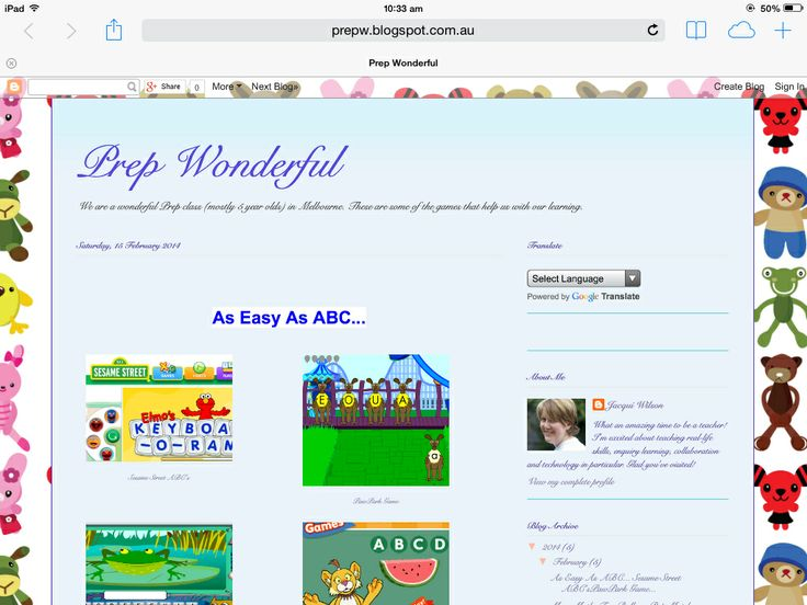 Prep Wonderful- links for multiple numeracy and literacy games
