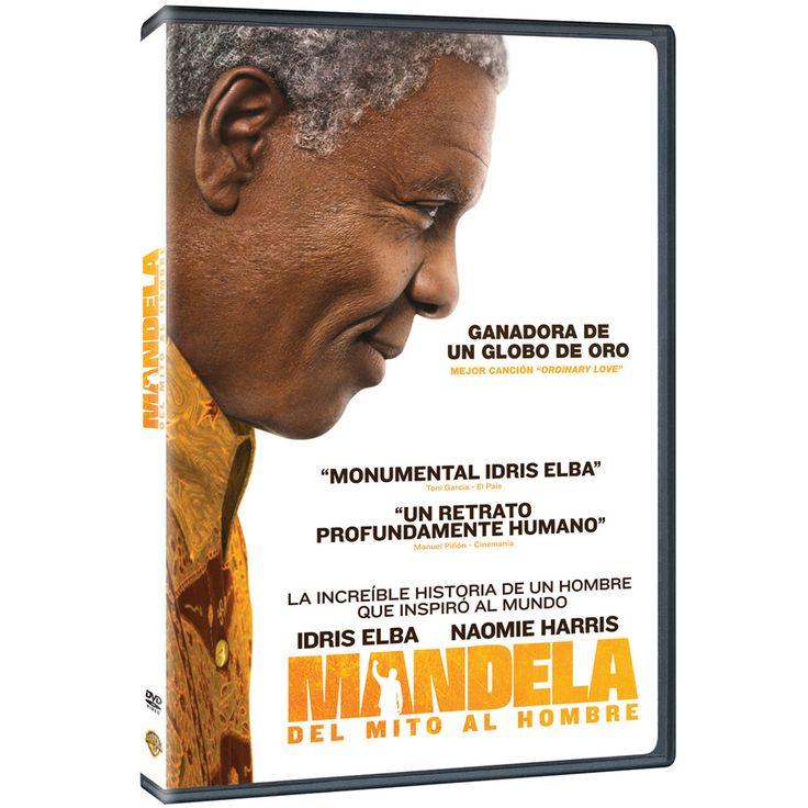 Mandela [Video-DVD] : del mito al hombre / diector, Justin Chadwick. Biopic que narra la extraordinaria vida del líder sudafricano Nelson Mandela, desde su niñez en una población rural y sus 27 años en prisión por activismo contra el 'apartheid' hasta su investidura como el primer presidente elegido democráticamente de Sudáfrica. Se trata de la historia de un hombre corriente con grandes valores que se enfrentó al desafío de su tiempo y triunfó.