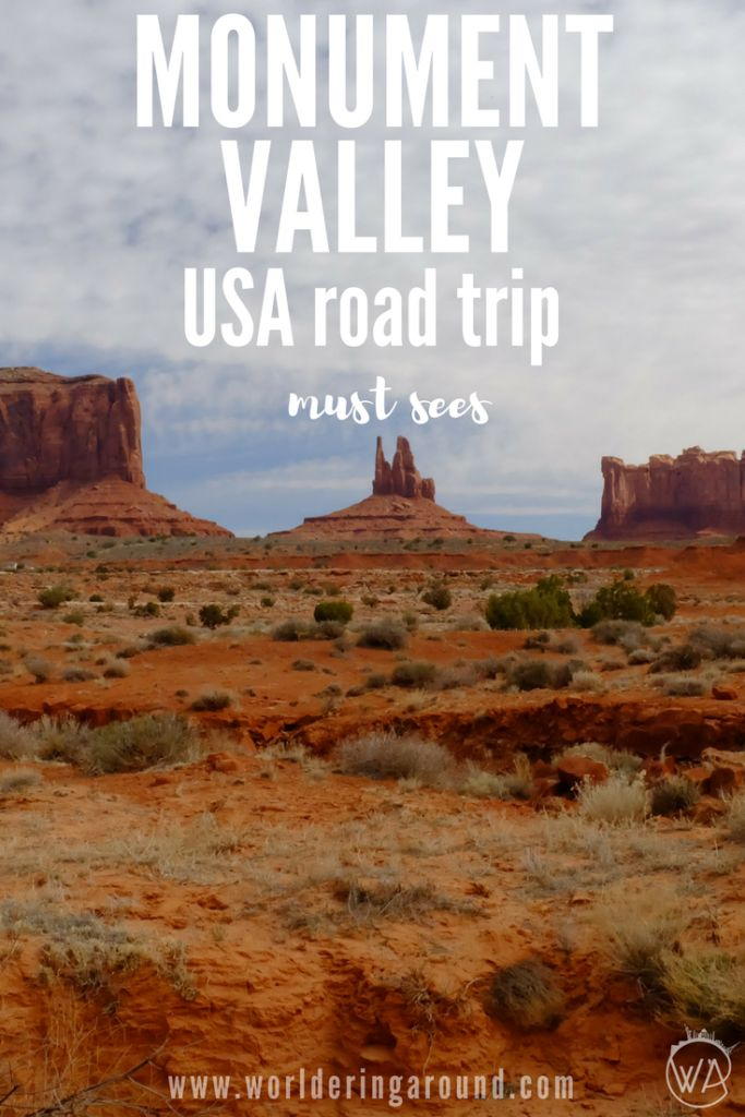 USA road trip must see - Monument Valley!