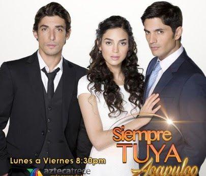 Siempre tuya Acapulco es una telenovela mexicana producida por Rita Fusaro para TV Azteca en 2014, escrita por Alberto Gómez. Protago...