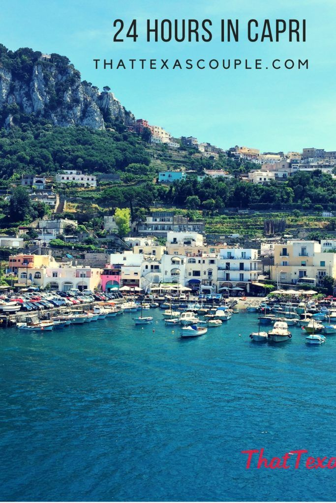 Have only 24 hours to spend it Capri? Here's a great itinerary of the 24 hours we spent in Capri.