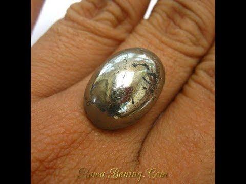 Natural Pyrite Brownish Yellow Oval Cabochon 34.33 Carat
