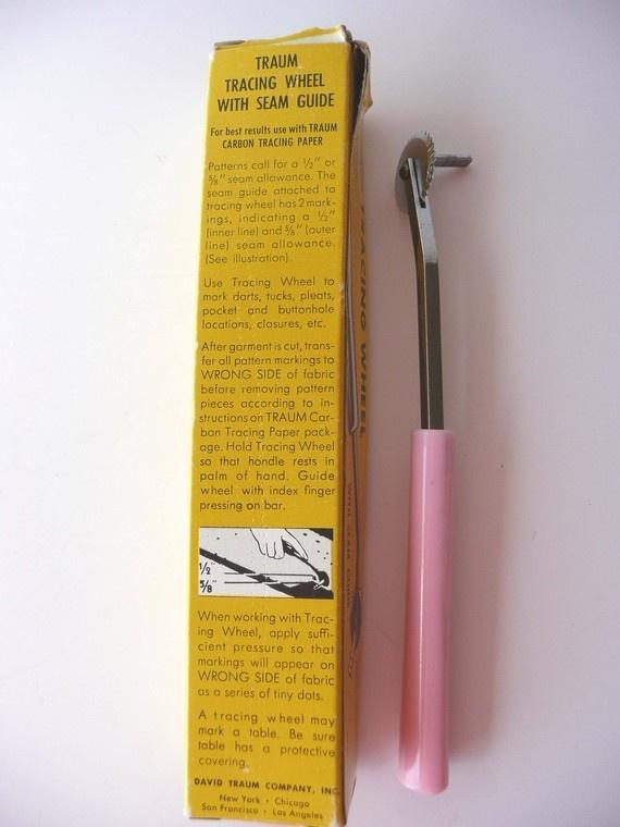 Universal 3 Pcs Plastic Handle Tracing Wheel Sewing Tool