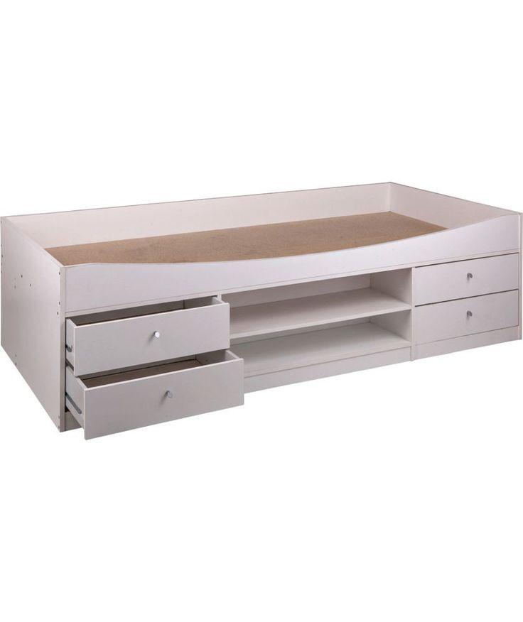 Buy Malibu Cabin Bed Frame - White at Argos.co.uk - Your Online Shop for Children's beds, Children's beds.