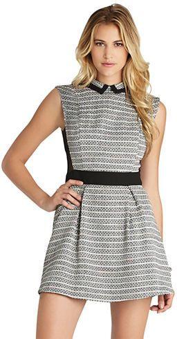 Bcbgeneration Collared Mini Dress