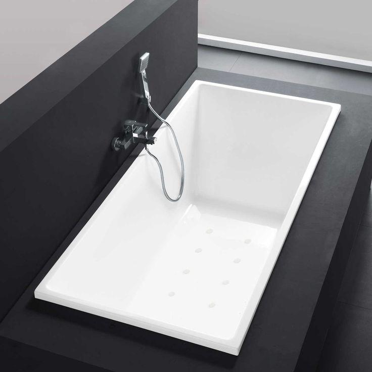 Delightful Nevis Acrylic Drop In Air Tub   Acrylic Tubs   Bathtubs   Bathroom