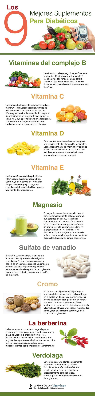 Los 9 Mejores Suplementos Para Diabéticos Que Te Ayudan A Controlar Tu Glucosa - La Guía de las Vitaminas