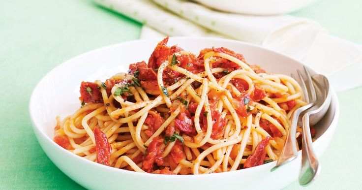 This easy pasta dish can be whipped up in next to no time!