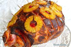 Pierna hawaiana #Navidad #RecetasparaNavidad #RecetasNavideñas #CenadeNavidad #CenadeNocheVieja #CenadeNocheBuena