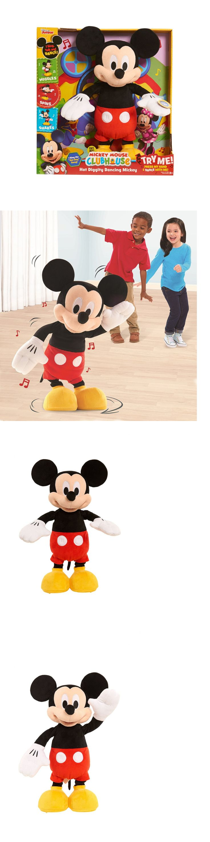 Mickey 19219: Just Play 10080 Mickey Mouse Clubhouse Hot Diggity Dancing Mickey -> BUY IT NOW ONLY: $49.99 on eBay!