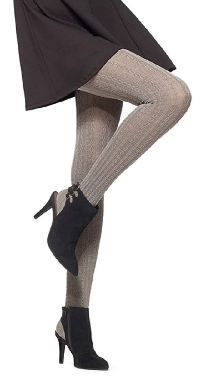 Hue Heat Temp Cable Tights Fashion Tights Fashion Tights