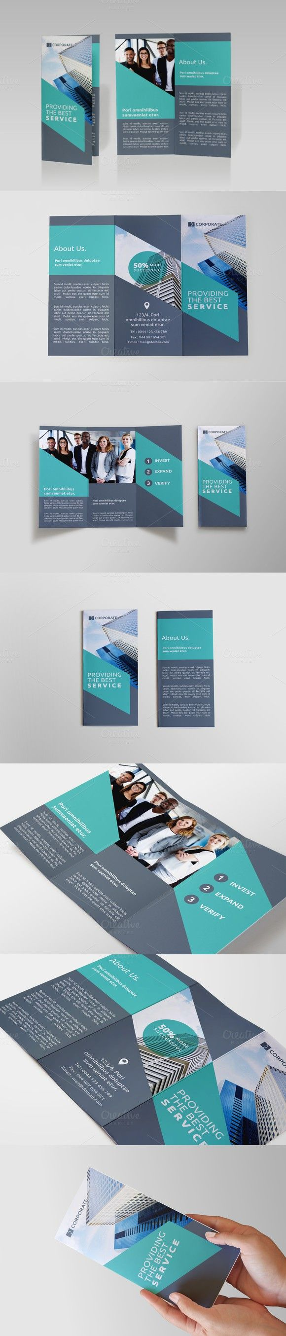 Business Tri-fold Brochure - AAB                                                                                                                                                                                 More
