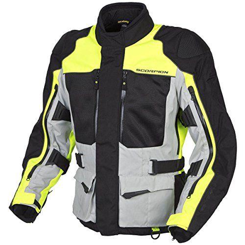 Scorpion XDR Yosemite Motorcycle Adventure Touring Jacket (Hi-Viz, X-Large)