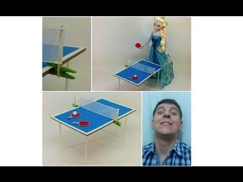 HAND MADE Стол для пинг-понга (игрушечный)