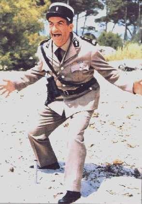 Louis de Funes. Le Gendarme. Comédie.