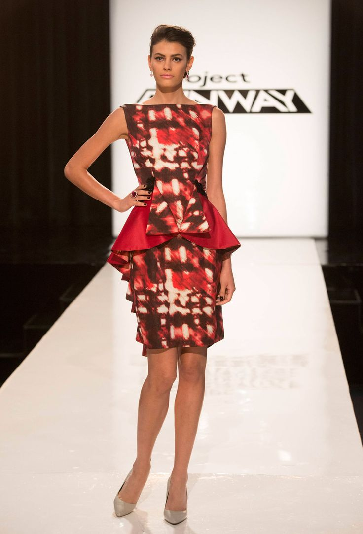 I Love The Print :) Project Runway Season 13 Rate The