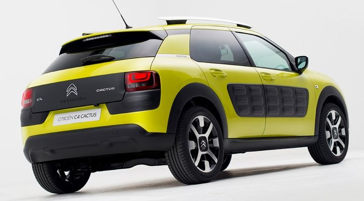 Citroen C4 Cactus (2014) first official pictures