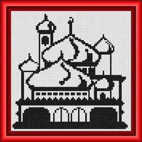 International Cross Stitch: Floral Series from Ren of Islamic Cross Stitch
