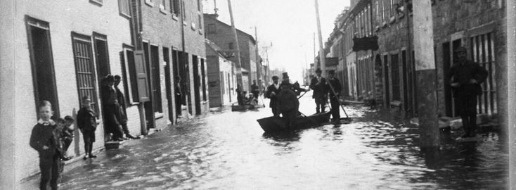 Denis Hébert Aujourd'hui que les brise-glace de la Garde côtière canadienne sillonnent le fleuve sans relâche de l'Atlantique à Montréal pour ouvrir le passage aux cargos pendant tous les mois d'hiver, on oublie souvent que la ville de Trois-Rivières a déjà essuyé de graves inondations au cours des deux dernières décennies du XIXe siècle. À …