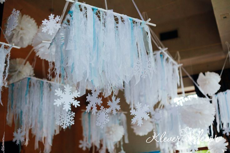 оформление дня рождения в стиле Frozen | Студия дизайна Клевер-ДЕКОР