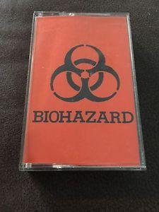 1988 Biohazard Demo Cassette Tape NYHC Hardcore Original Authentic Evan Seinfeld | eBay