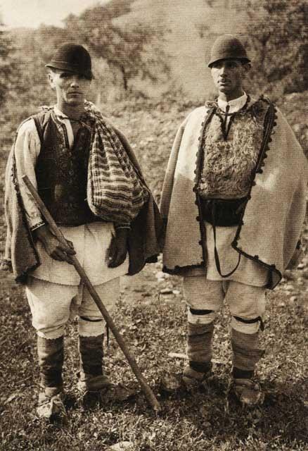 Rechitova, shepherds  Hunedoara county