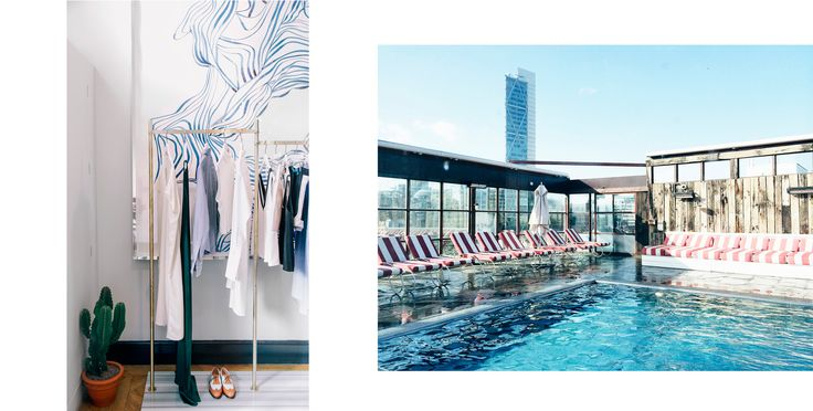 Camille Charrière's Inside Guide to London // Alex Eagle Walton street & Shoreditch house.