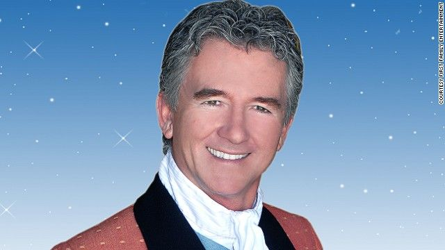"""Patrick Duffy (best known for his role on Dallas, where he played Bobby Ewing) makes his debut as Baron Hardup in """"Cinderella,"""" at New Victoria Theatre in Woking, Surrey (2006)."""
