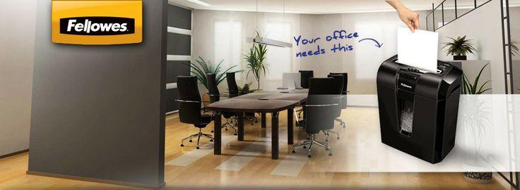 Fellowes Shredders Tel: (012) 377 1093 Email: sales@papershredders.co.za
